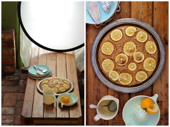 Lemon Cake Collage